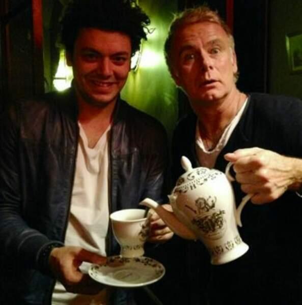 Tea time entre Franck Dubosc et Kev' Adams