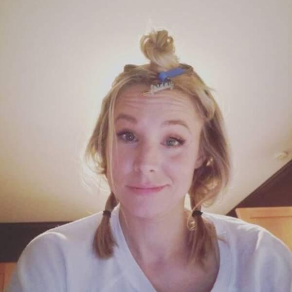 Et quand la fille de Kristen Bell propose ses services de coiffure, ça donne ça. Sans façon, même gratos.