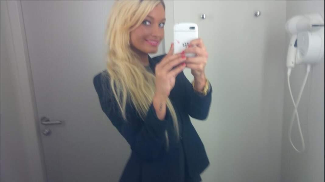 Aurélie Dotrémont, elle, a encore abusé de l'auto-bronzant !