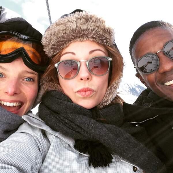Déjà cet hiver, les trois amis étaient partis au ski ensemble
