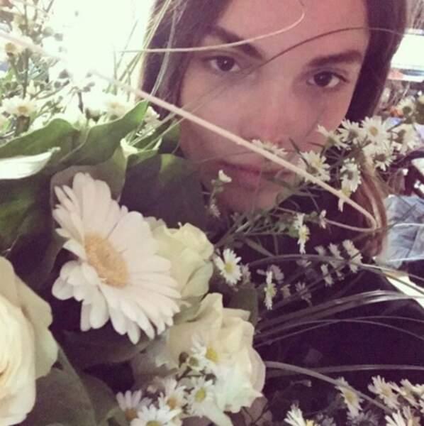 Une fleur parmi les fleurs !