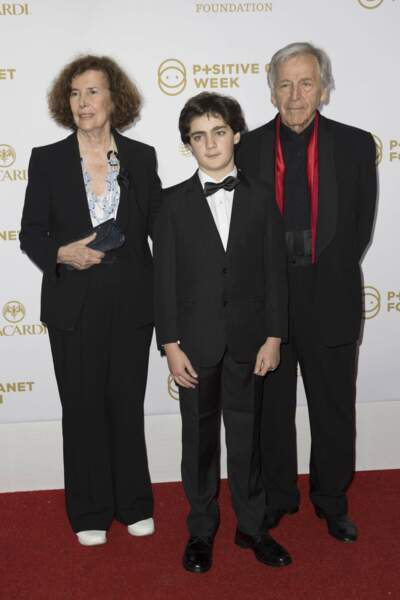 Le réalisateur Costa-Gavras était venu en famille : c'est son petit-fils au premier plan