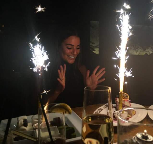 Et Lea Michele a eu 30 ans en avance ! En vrai, son anniversaire est lundi prochain (tricheuse).