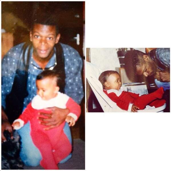 On ADORE la photo nostalgie en compagnie de son papa pour la Fête des Pères