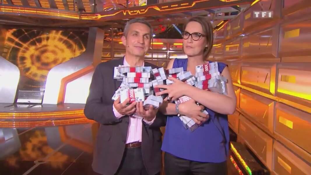 25. Cécile et Philippe, 260 000 €, Money Drop, TF1 (2016)