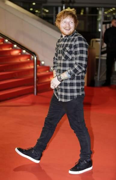 Ed Sheeran aux NRJ Music Awards 2015