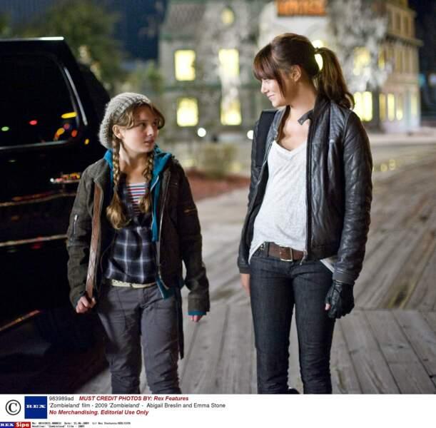 Bienvenue à Zombieland (2009) : avec Emma stone pour lutter contre les morts-vivants !
