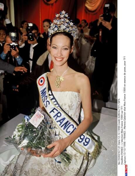Miss France 1999 : Mareva Galanter (Miss Tahiti)