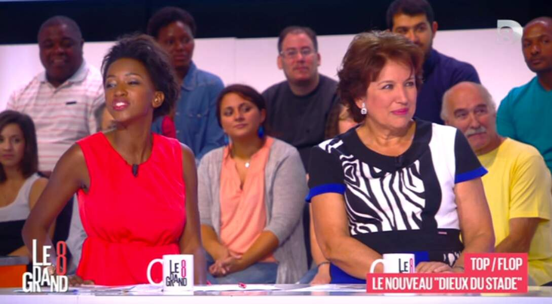 On aime beaucoup le petit côté animal de Roselyne Bachelot !