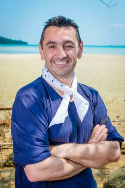 Stéphane, candidat de Koh-Lanta : l'île au trésor