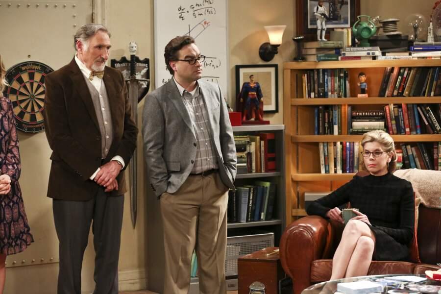 Judd Hirsch et Christine Baranski se sont glissés dans la peau des parents de Leonard