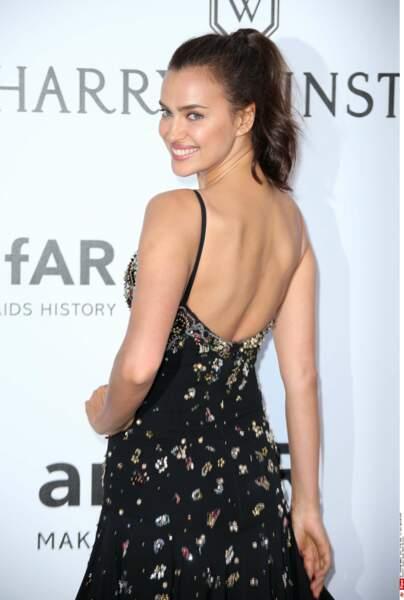 Bonjour Irina Shayk. Quel sourire !