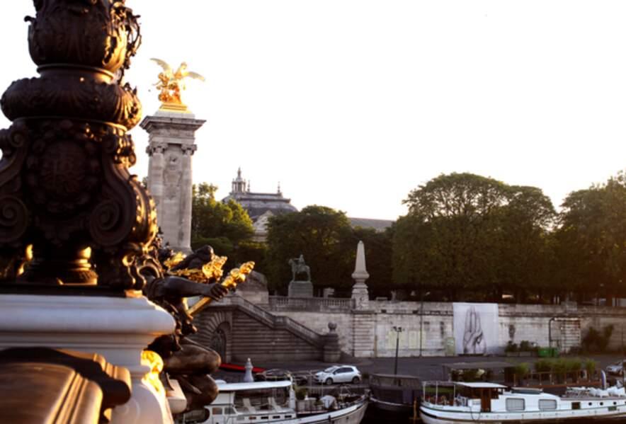 Le Pont Alexandre III, à Paris