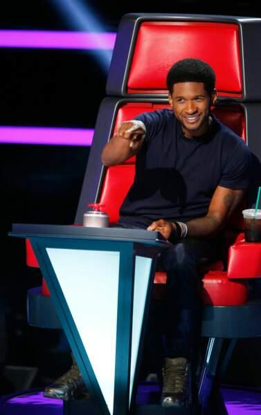 Usher, lui, a officié sur les saisons 3 et 4 de The Voice USA, puis sur la saison 6