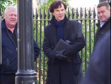 DIAPORAMA : Sherlock saison 4, les photos des coulisses !