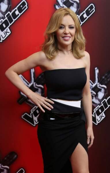 Kylie Minogue a été présente trois saisons sur The Voice UK, et une saison en Australie, comme Will.i.am
