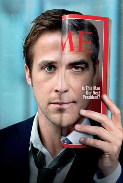 George Clooney et Ryan Gosling, quelle affiche pour Les Marches du Pouvoir (2011)
