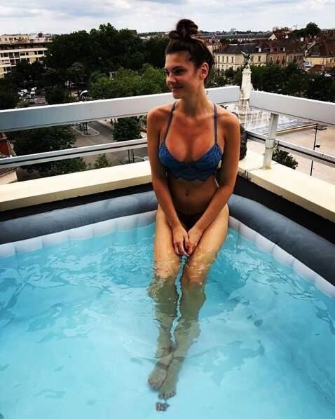 La charmante Alice Detollenaere est la chérie du nageur Camille Lacourt
