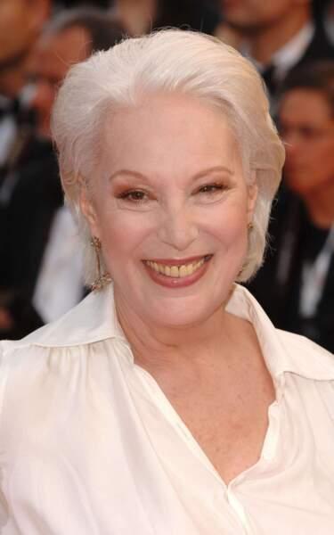 Bernadette Lafont au Festival de Cannes en 2007.