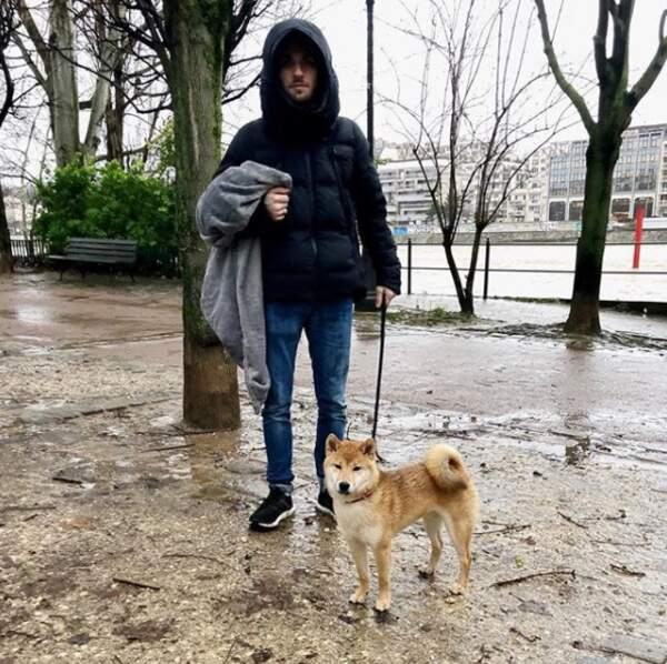 Il n'y a effectivement que Squeezie et son chien pour nous rappeler que l'hiver est rude en France