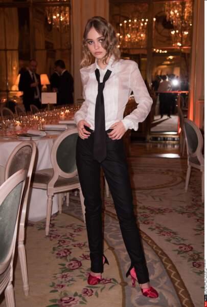... Et parmi les 34 jeunes acteurs pré-sélectionnés au César du meilleur espoir, Lily-Rose Depp (La danseuse) !