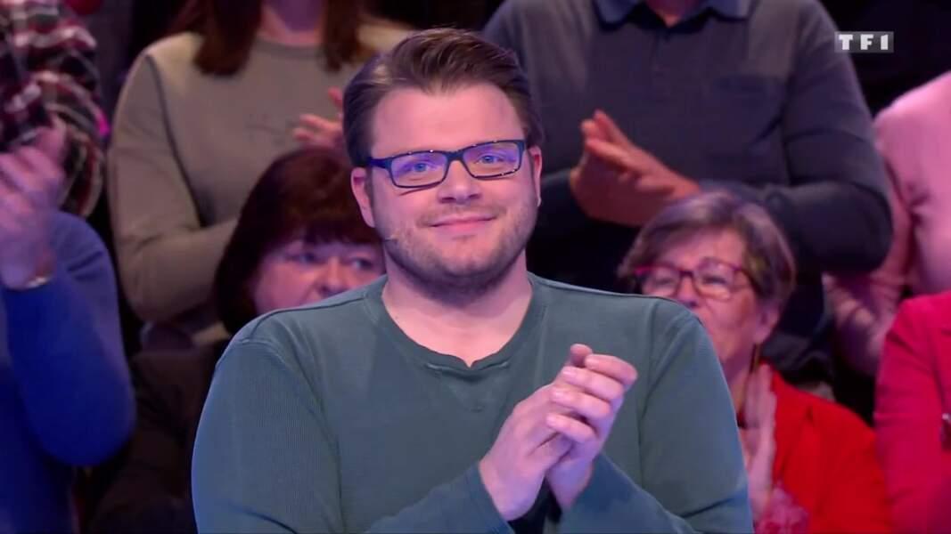 13. Benoît, 397 946 €, Les 12 Coups de midi, TF1 (2019)