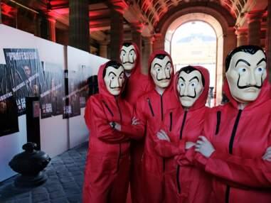 Avec Ursula Corbero et Jaime Lorrente, La Casa de Papel fait le show à la Monnaie de Paris