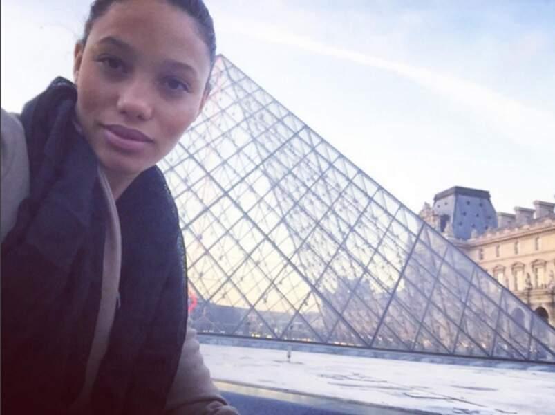 En visite à Paris ... avec David ?