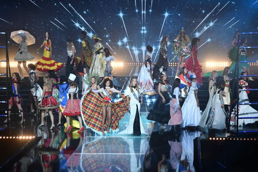 Les Miss ont défilé fièrement pour la première fois