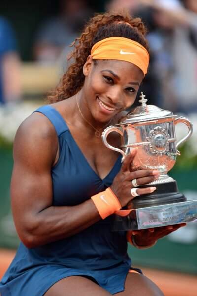 C'est la deuxième victoire de Serena Williams à Roland Garros