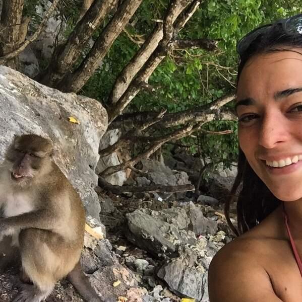 Et se prendre en photo avec eux ! Selfie monkey !