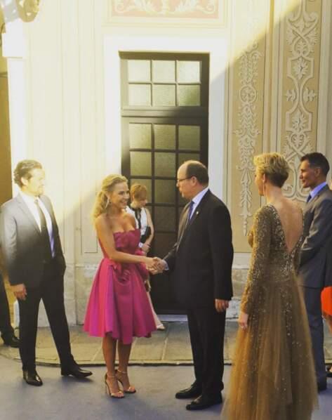 Julie Benz a pu immortaliser sa rencontre avec le prince