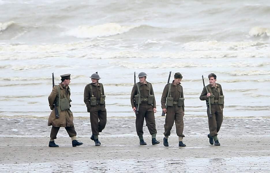 Le réalisateur anglais a tourné des scènes sur la plage de Leffrinckoucke