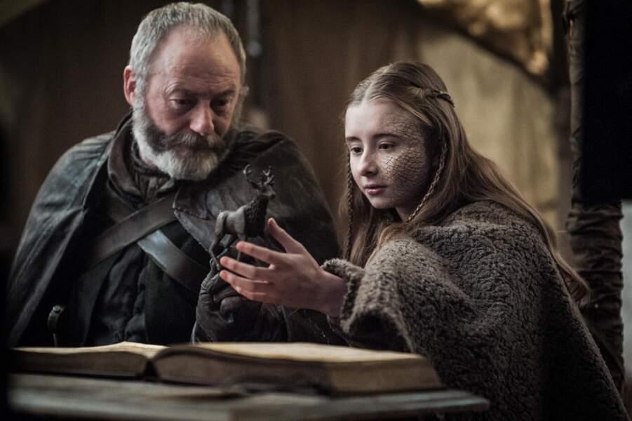 Liam Cunnigham est Ser Davos à partir de la saison 2
