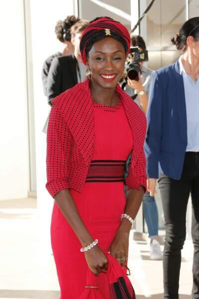 L'actrice Maimouna N'Diaye