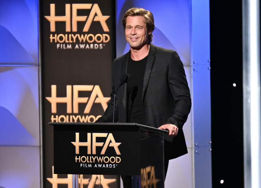 Le séduisant Brad Pitt n'a rien à envier au charme de son homologue vocal français