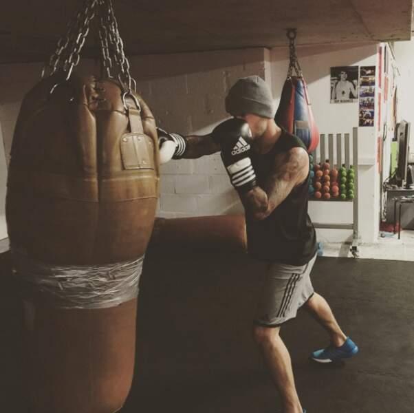 David Beckham donne tout à la boxe.