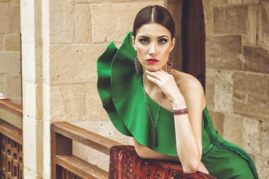 Nino Karalashvili est la Miss Georgie