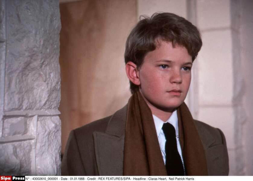 Ici, à 15 ans dans le film Le secret de Clara, son premier grand rôle