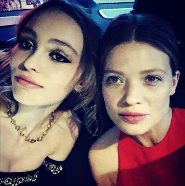 Lily-Rose Depp et Mélanie Thierry ont charmé la Croisette
