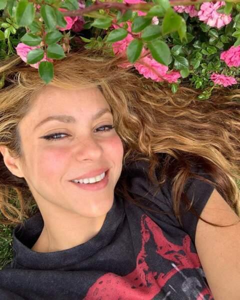 Shakira, née le 2 février 1977