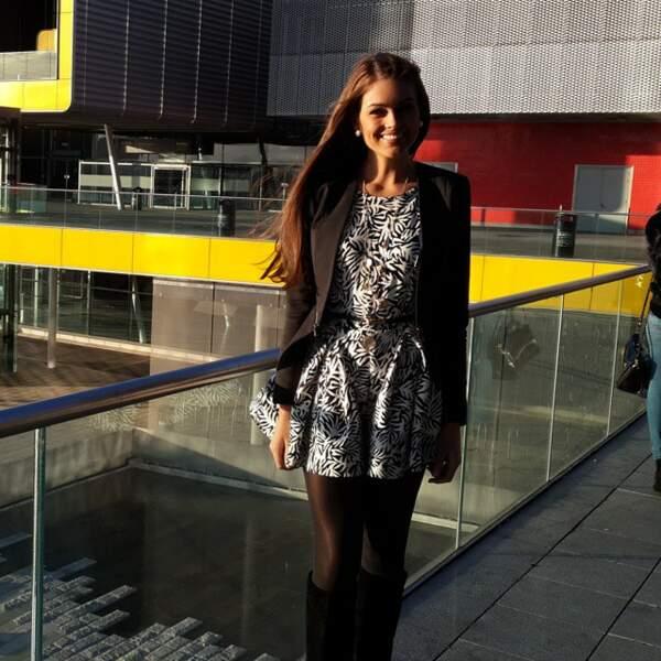 Petite pause entre deux missions pour Miss Monde 2014