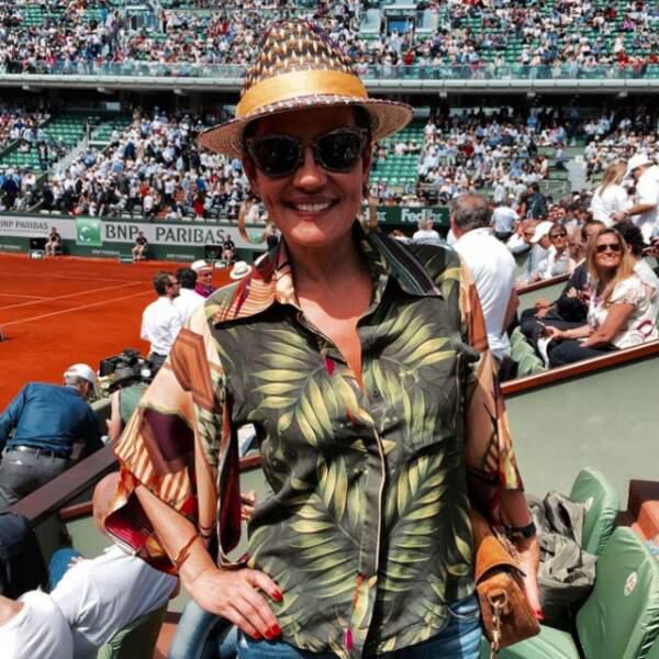 C'est aussi une grande fan de tennis (sur ce plan-là, pas de rumeurs).