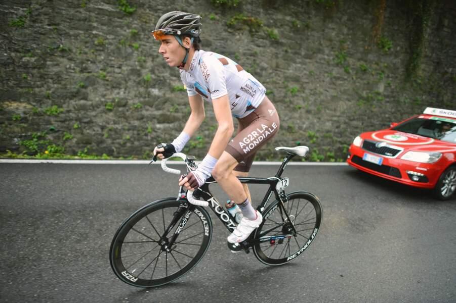 Grand espoir, Romain Bardet va disputer son premier Tour, à 22 ans, avec AG2R La Mondiale