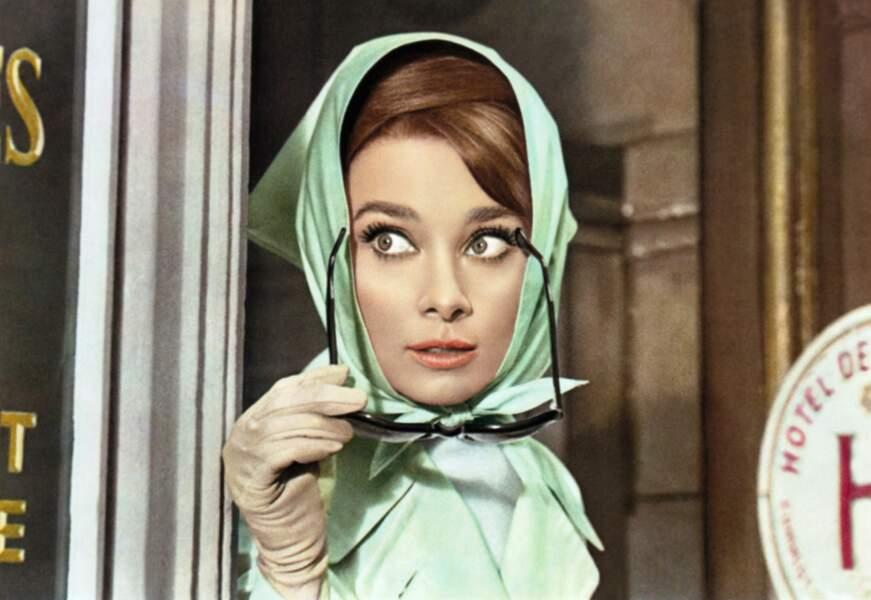 Audrey incognito à Paris ?