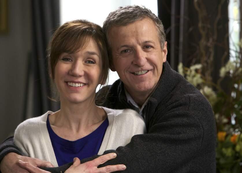 Virginie Lemoine, l'interprète de Marion Ferrière, est revenue au théâtre et dans un téléfilm