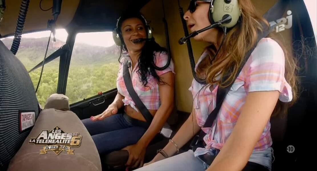 """Dans la catégorie """"soeurs jumelles"""" : Shanna et Dania des Anges, chemises à carreaux dans les tons roses"""