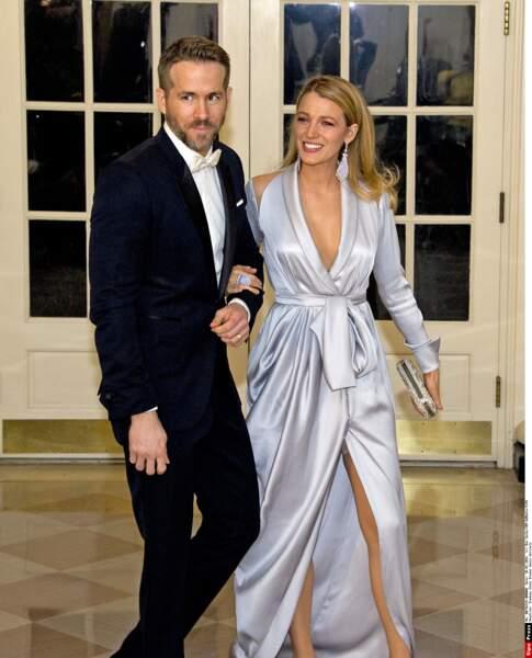 Avec Ryan Reynolds, Blake Lively forme un très beau couple