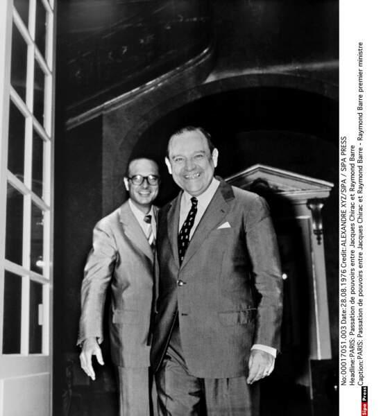 1976 : Raymond Barre reprend la barre. Il est le nouveau Premier ministre