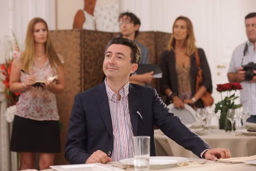 Gérald Dahan alias Germain, l'un des jurés du concours culinaire